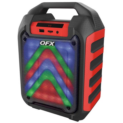 """QFX 4"""" Rechargeable Party Speaker"""