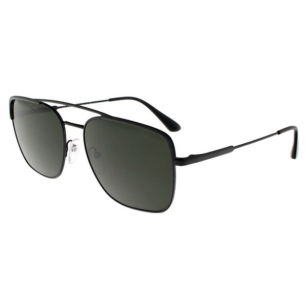 e62114fbc7 Shop Prada PR53VS 1AB1I0 CONCEPTUAL Black Square Sunglasses - 59-18 ...