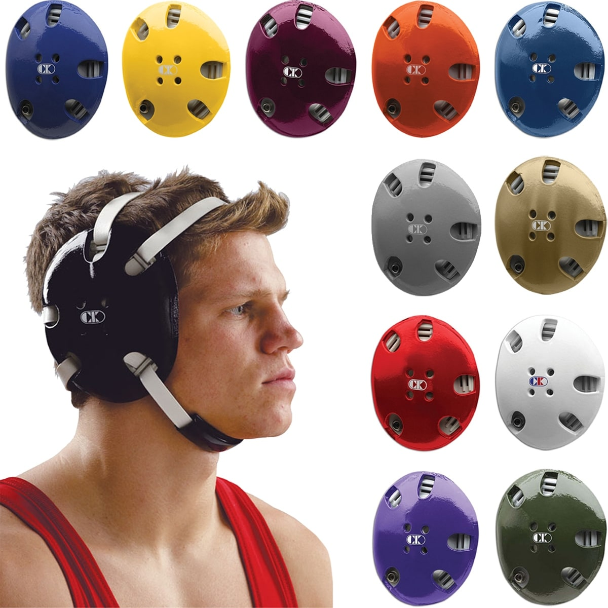 Pink//Black Cliff Keen E58 Signature Wrestling Headgear