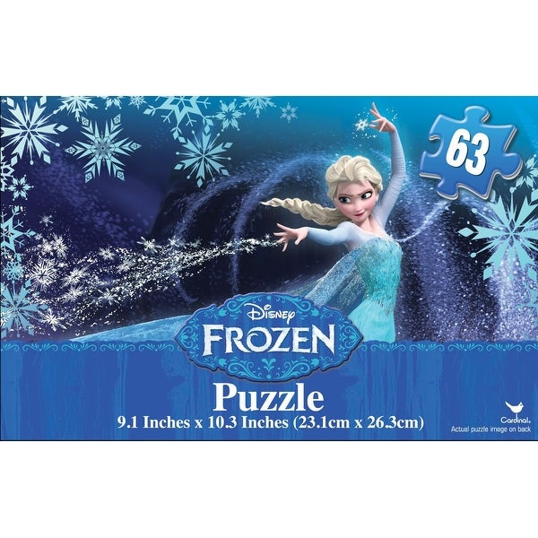Frozen 63 Pc Promo Puzzle in Gift Box