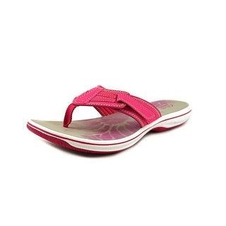 Clarks Brinkley Athol Open Toe Synthetic Flip Flop Sandal