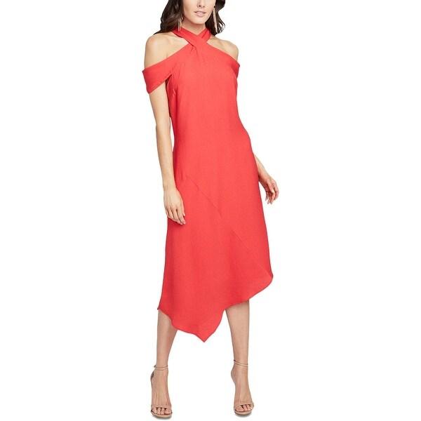 Rachel Roy Discount Gowns: Shop Rachel Rachel Roy Womens Midi Dress Cold Shoulder