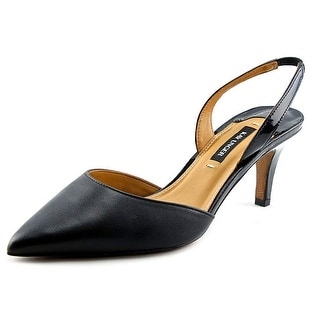 Kay Unger Baylee  W Pointed Toe Patent Leather  Slingback Heel