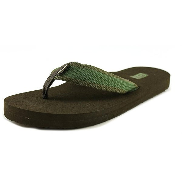 Teva Mush II Men Open Toe Synthetic Green Flip Flop Sandal