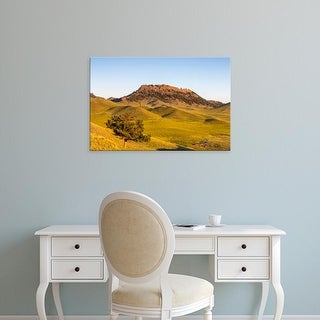 Easy Art Prints Chuck Haney's 'Rolling Hills Of The Bears Paw Mountains' Premium Canvas Art