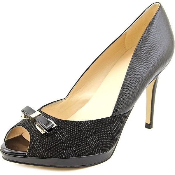 Marc Fisher Marsha 2 Women Black Multi Pumps