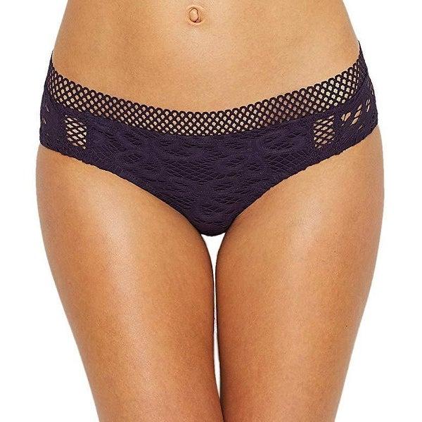ebb830f9dd8ef Shop Becca by Rebecca Virtue Captured American Bikini Bottom Sz M - Free  Shipping Today - Overstock - 27068882