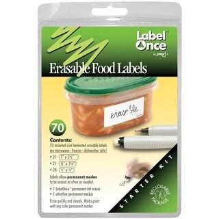 HIC 47826 Jokari Label Once Erasable, Food Labels