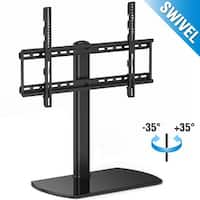 Fitueyes Universal TV Stand /Base Swivel Tabletop TV Stand with Mount for 32 to 65 inch TV TT107002GB