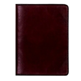 Scully Planner Italian Leather Weekly Desk Planner