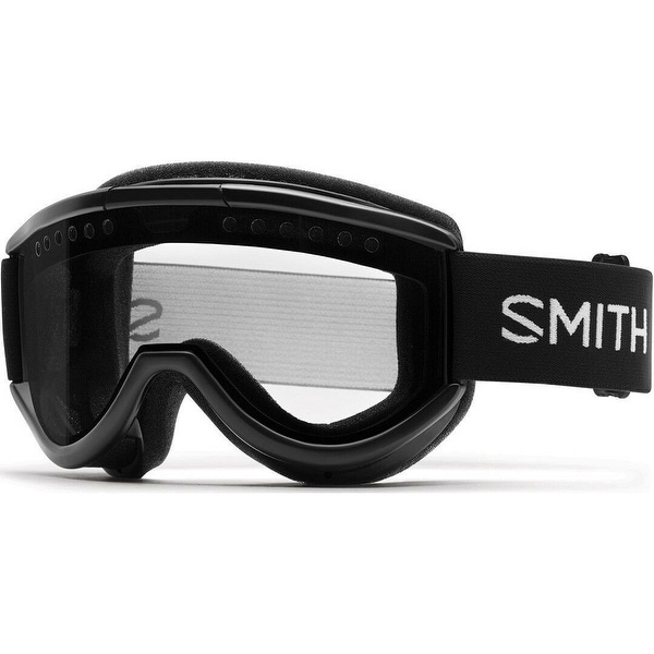 1ba6eca13c Shop Smith Optics Cariboo OTG Ski Goggles (Black Frame  Clear Lens) - Black  - Free Shipping Today - Overstock - 26507610