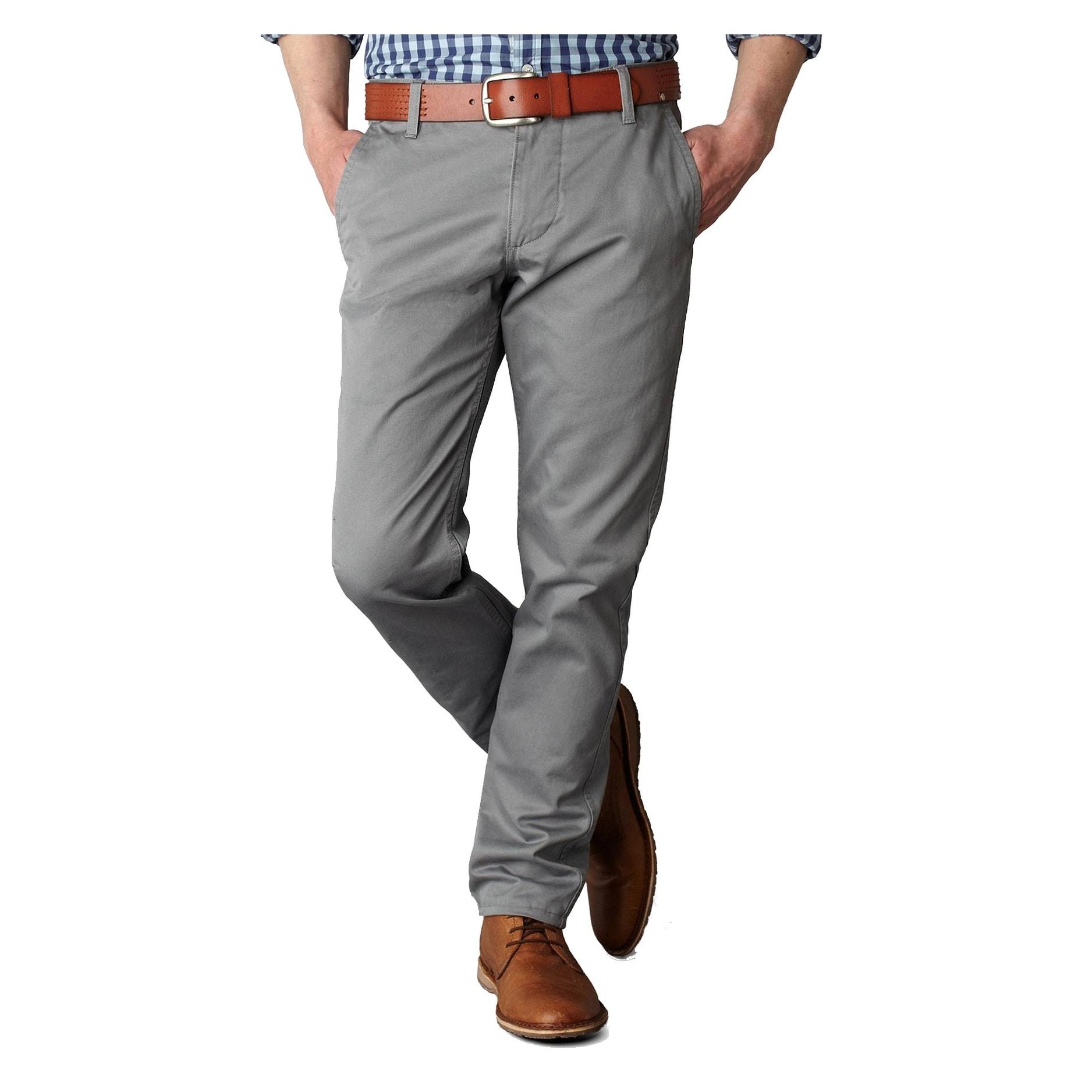 Dockers Mens Slim-Tapered Alpha Khaki Pants