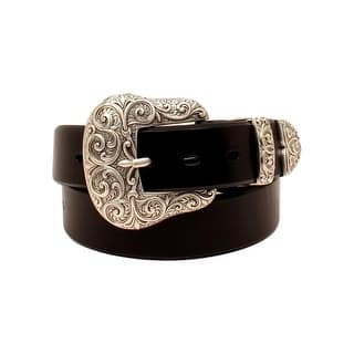 Ariat Western Belt Womens 3 Piece Buckle Set Leather Black A1523201|https://ak1.ostkcdn.com/images/products/is/images/direct/833b776ff28a5476c298fd389efa3981332ed594/Ariat-Western-Belt-Womens-3-Piece-Buckle-Set-Leather-Black-A1523201.jpg?impolicy=medium