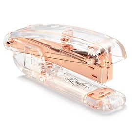 Insten Clear/ Rose Gold Acrylic Mini Stapler (15-sheet Capacity)