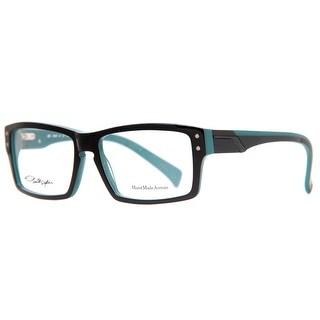 Smith Optics Wainwright FRX Black/Blue Men's Acetate Rectangular Eyeglasses - 55mm-16mm-140mm