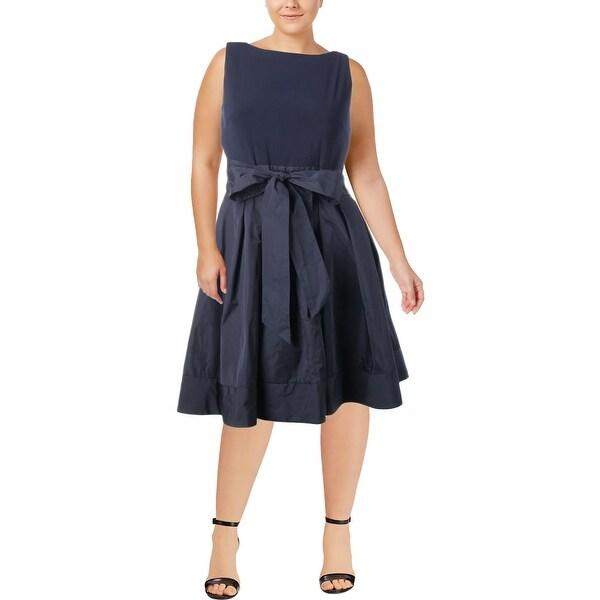 Lauren Ralph Lauren Womens Evening Dress Sleeveless Party