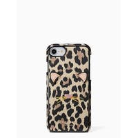 Kate Spade New York Leopard Applique iPhone 8 / iPhone 7 Case