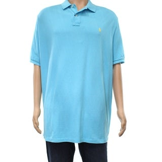 Polo Ralph Lauren NEW Blue Mens 2XL Embroidered Logo Polo Rugby Shirt