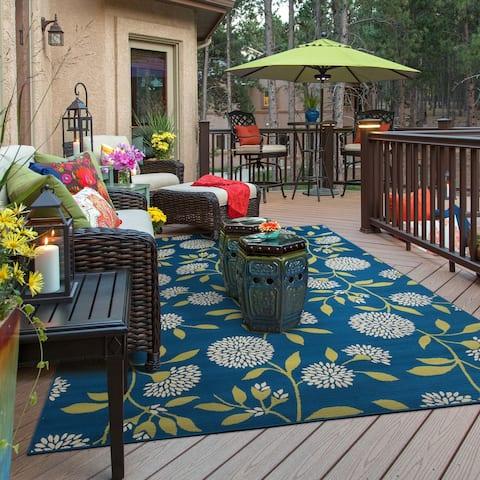 Carson Carrington Forde Floral Indoor/ Outdoor Area Rug