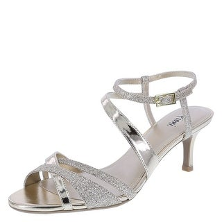 Fioni Womens Mollie Open Toe Casual Ankle Strap Sandals
