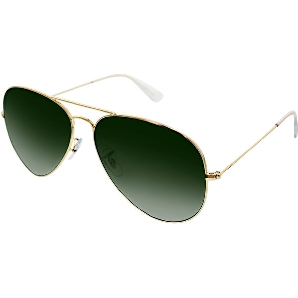 43c886d798 Shop Ray-Ban RB3026 L2846 Aviator Sunglasses 62MM - Gold - Free Shipping  Today - Overstock.com - 15377546