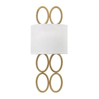 Fredrick Ramond FR35600 2 Light Wall Sconce from the Jules Collection