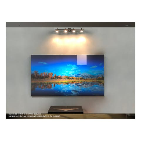 """Elite Screens AR103H-CLR2 103"""" Edge Free Fixed Frame Screen for Short Throw Projectors - White"""