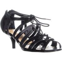 42d78aa5fb Shop Ellen Tracy Sunrise Buckle Kitten Heels, Black Patent - 9.5 US ...