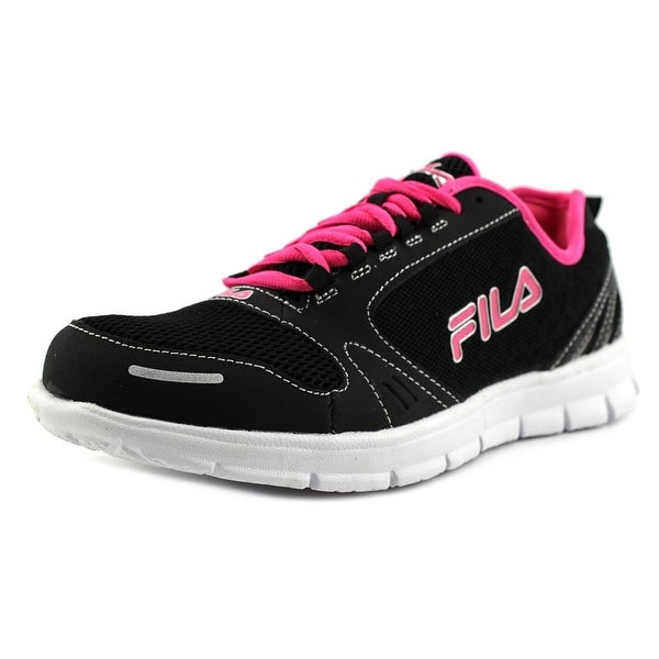 Fila Deluxe Round Toe Synthetic Running Shoe