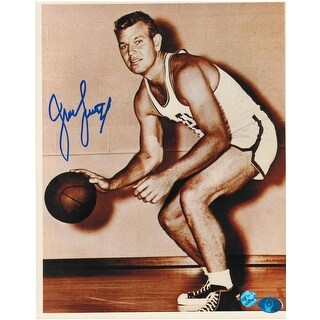 """Jungle"" Jim Loscutoff Boston Celtics Autographed 8x10 Photo -Pose-"