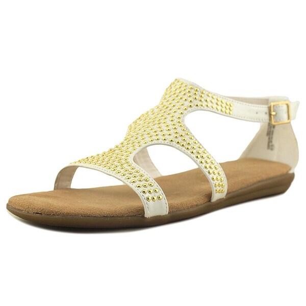 Aerosoles Swim Chlub Women Open Toe Synthetic White Gladiator Sandal