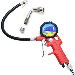 Image Digital Tire Pressure Gauge LCD Car Auto Truck Pressure Tester Air Inflator