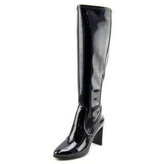 Nine West Kellan Round Toe Synthetic Knee High Boot