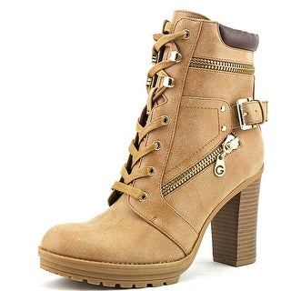 G By Guess Gogi Round Toe Synthetic Ankle Boot