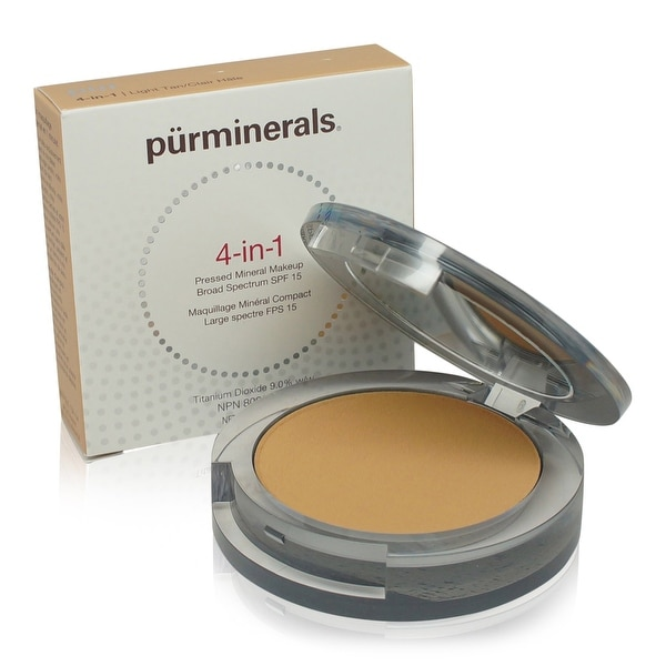 PUR 4-In-1 Pressed Mineral Makeup - Light Tan 0.28 Oz