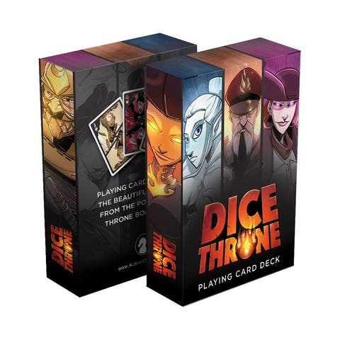 Dice Throne Playing Card Deck - Multi