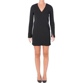 Helmut Lang Womens Cocktail Dress Mini Sheath