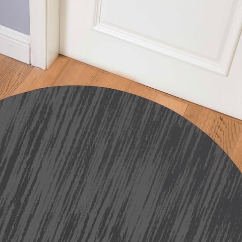 TEXTURE MIDNIGHT Indoor Floor Mat By Kavka Designs