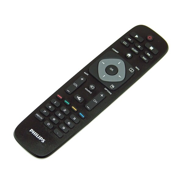 OEM Philips Remote Originally Shipped With: 46PFL3708, 46PFL3708/F7, 24PFL4508, 24PFL4508/F7, 39PFL2708, 39PFL2708/F7