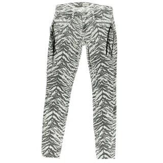 Hudson Womens Denim Low-Rise Skinny Jeans - 24