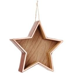 Star - Copper Hanging Shadow Box 7.5""