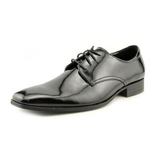 Calvin Klein Gareth II Men  Square Toe Patent Leather  Oxford