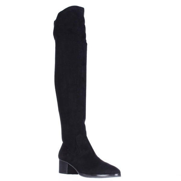 Tahari Corbin Over The Knee Boots, Black