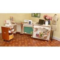 Kangaroo Kabinets Aussie Sewing Cabinet - Teak