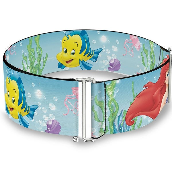 Ariel, Sebastian & Flounder Scene2 Cinch Waist Belt ONE SIZE