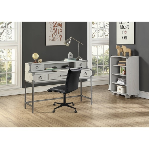 ACME Orchest Desk Hutch in Gray