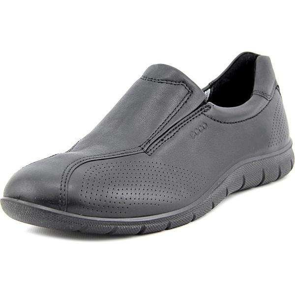 Ecco Babett Slip On Women Round Toe Leather Loafer