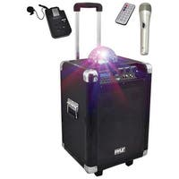 PYLE PRO PCMX280B Disco Jam 400-Watt Bluetooth(R) Portable PA Speaker System