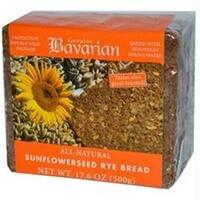 Bavarian Breads  Bavarian Breads Sunflower Seed Rye Bread  -6x17.6oz