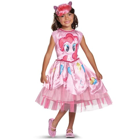 Disguise Pinkie Pie Movie Classic Toddler/Child Costume - Pink